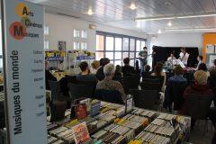 Audition de Musiques actuelles à la médiathèque de Calais