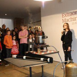 Rencontres musicales autour des «Extraordinaires machines» le 27 novembre