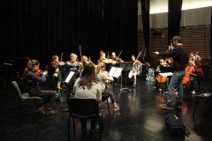 1ères répétitions des élèves cordes avec le Brussel Chamber orchestra, les 13, 14 et 15 janvier 2017