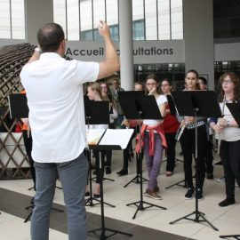 L'orchestre junior du CRD à l'hôpital le 28 juin