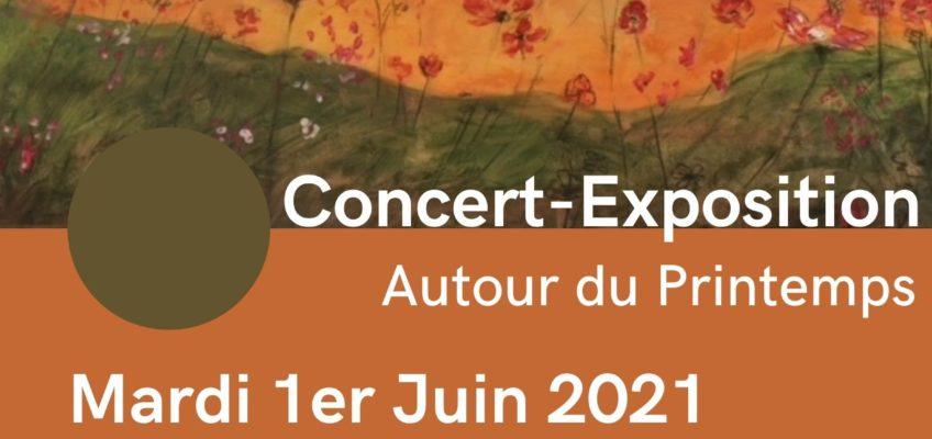 01.06.21 – Concert Exposition : autour du Printemps