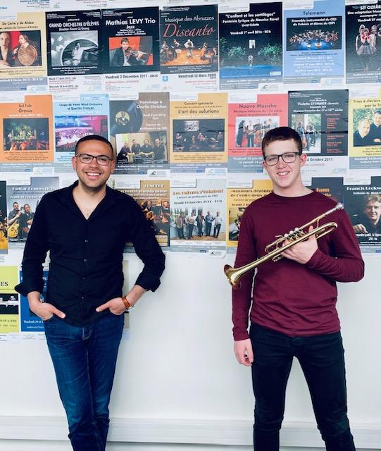 Réussite au concours d'entrée au Conservatoire National de Musique – 23.04.21