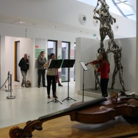 Audition de violon à l'école d'art