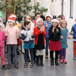 Chorales de Noël par les élèves de Formation musicale le 14 décembre