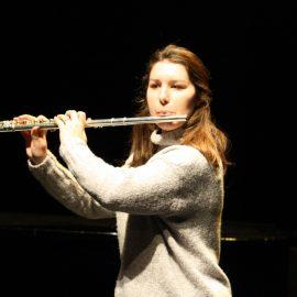 Audition de flûte traversière, le 17 janvier 2017